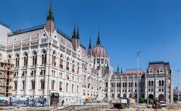 El parlamento de Budapest Fotos de archivo libres de regalías
