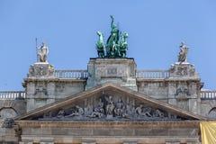 El parlamento de Budapest Imagen de archivo