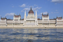 El parlamento de Budapest, Hungría Imágenes de archivo libres de regalías