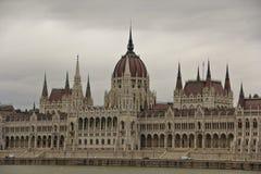 El parlamento de Budapeste, Hungría Fotografía de archivo libre de regalías