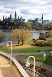 El parlamento de Canadá Imagenes de archivo