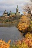 El parlamento de Canadá Fotografía de archivo libre de regalías