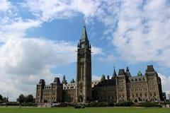 El parlamento de Canadá foto de archivo