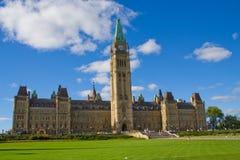 El parlamento de Canadá Fotos de archivo libres de regalías