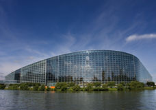 El parlamento de Europa Fotografía de archivo