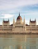 El parlamento de Hungría Foto de archivo