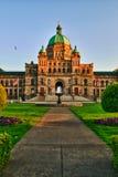 El parlamento de la Columbia Británica Fotografía de archivo