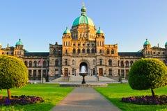El parlamento de la Columbia Británica Fotografía de archivo libre de regalías