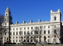 El parlamento de Londres Imagen de archivo libre de regalías