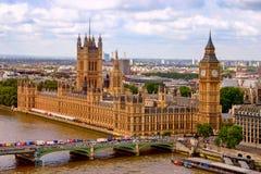 El parlamento de Londres Imagenes de archivo