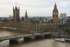 El parlamento de Londres, Ben grande Fotos de archivo libres de regalías