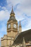 El parlamento de Londres. Ben grande. Fotos de archivo libres de regalías
