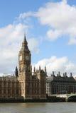 El parlamento de Londres y Ben grande Imágenes de archivo libres de regalías