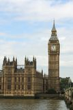 El parlamento de Londres y Ben grande Fotos de archivo libres de regalías