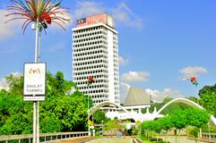 El parlamento de Malasia Imagen de archivo