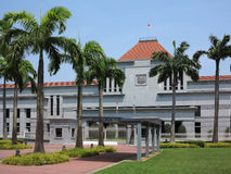 El parlamento de Singapur Foto de archivo libre de regalías