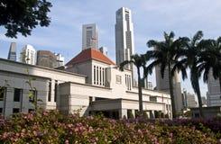 El parlamento de Singapur contiene Fotografía de archivo