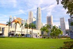 El parlamento de Singapur fotografía de archivo libre de regalías