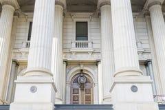 El parlamento de Victoria en Melbourne, Australia fotografía de archivo libre de regalías
