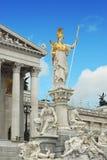 El parlamento de Viena imágenes de archivo libres de regalías