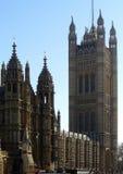 El parlamento de Westminster Foto de archivo libre de regalías