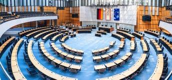 El parlamento del estado en Berlín imagen de archivo
