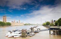 El parlamento del Reino Unido Fotografía de archivo libre de regalías