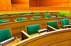 El parlamento en ayuntamiento - Oslo Noruega Fotos de archivo libres de regalías