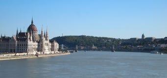 El parlamento en Budapest Fotografía de archivo libre de regalías