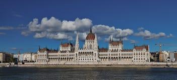 El parlamento en Budapest Fotos de archivo libres de regalías