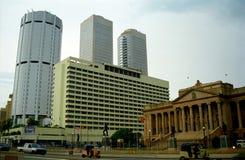 El parlamento en el centro de la ciudad, Colombo, Sri Lanka fotos de archivo
