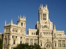 El parlamento en Madrid Imágenes de archivo libres de regalías