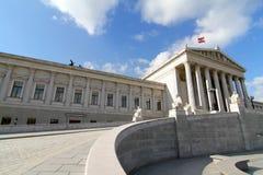 El parlamento en Viena fotos de archivo