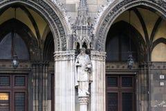 El parlamento encanta la estatua Foto de archivo libre de regalías