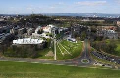 El parlamento escocés Imágenes de archivo libres de regalías