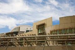 El parlamento escocés, Edimburgo Imágenes de archivo libres de regalías