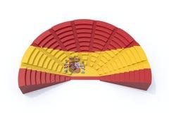 El parlamento español Foto de archivo libre de regalías