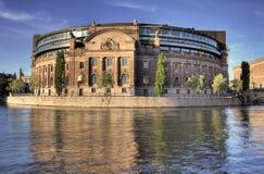 El parlamento Estocolmo Foto de archivo libre de regalías