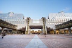 El Parlamento Europeo Imagenes de archivo