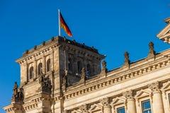 El parlamento federal alemán (Reichstag) Fotos de archivo