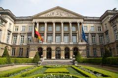 El parlamento federal Bruselas - horizontal fotos de archivo libres de regalías
