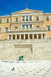 El parlamento griego Foto de archivo libre de regalías