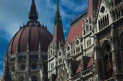 El parlamento húngaro Imagenes de archivo