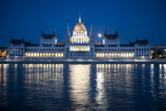 El parlamento húngaro Imágenes de archivo libres de regalías