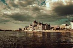 El parlamento húngaro Fotos de archivo