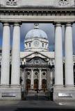El parlamento irlandés contiene - Dublín Irlanda Fotografía de archivo libre de regalías