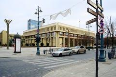 El parlamento lituano (Seimas) en Vilna el 13 de marzo Foto de archivo libre de regalías