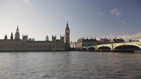 El parlamento Reino Unido de Londres metrajes