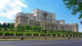 El parlamento rumano imagen de archivo libre de regalías