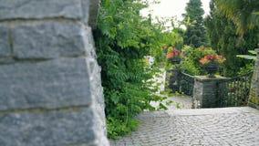 El parque con las flores Imagen de archivo libre de regalías